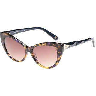 Nine West Womens Cat Eye Sunglasses Tortoise Fashion - blue tokyo tortoise - o/s