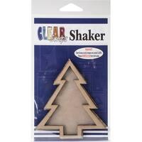 """Clear Scraps Chipboard & Acrylic Shaker Shape 3.5""""X4.5""""-"""