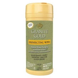 Granite Gold CG0042 Disinfecting Wipes, 35 Count