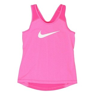 Nike Girls Tank Top Athletic Tank Racerback - M