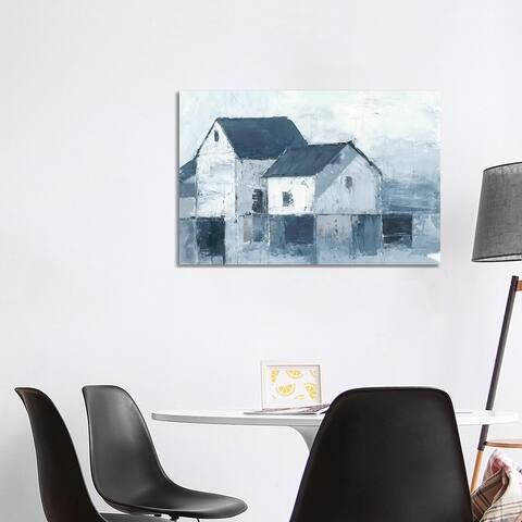 "iCanvas ""Indigo Barns I"" by Ethan Harper Canvas Print"