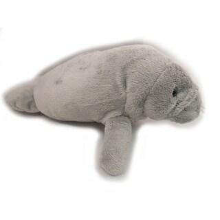 "Wishpets Unisex-Child Manatee Plush Toy 11"" Gray"