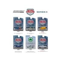 Blue Collar Collection Series 4, 6pc Set 1/64 Diecast Model Cars by Greenlight