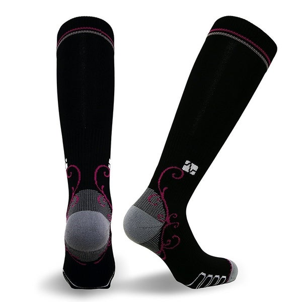 Vitalsox Womens Graduated Compression Socks, Running, Travel, Yoga, Nurses, Maternity Pregnancy