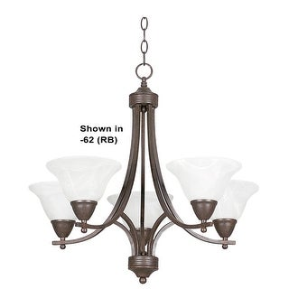 "Sunset Lighting F5165 Metropolitan 5 Light 500 Watt 21.5"" Width Chandelier"