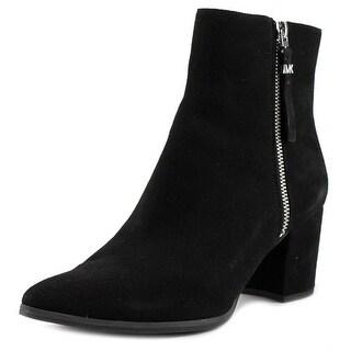 Michael Michael Kors Dawson Mid Bootie Women Black Boots