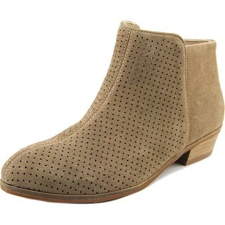 Softwalk Rocklin Perf. Round Toe Suede Ankle Boot