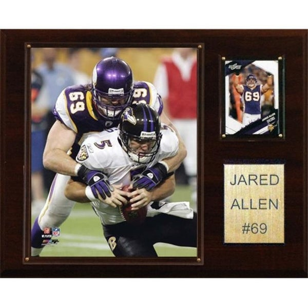 Shop C   I Collectables NFL Jared Allen Minnesota Vikings Player Plaque - Free  Shipping On Orders Over  45 - Overstock.com - 23748783 5771463a0