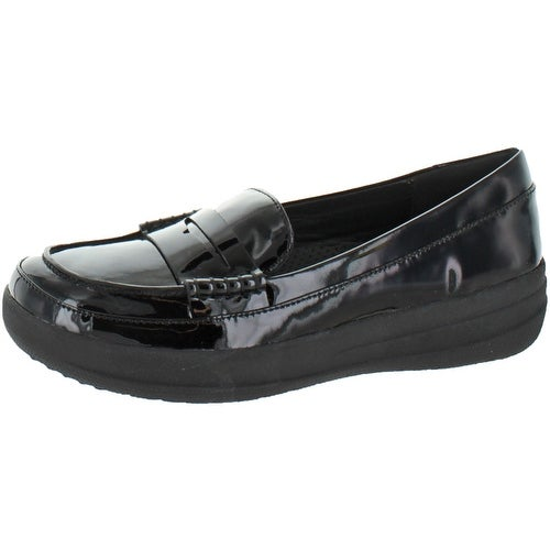 Sporty Leather Penny Loafers FitFlop 8Ye40mRH