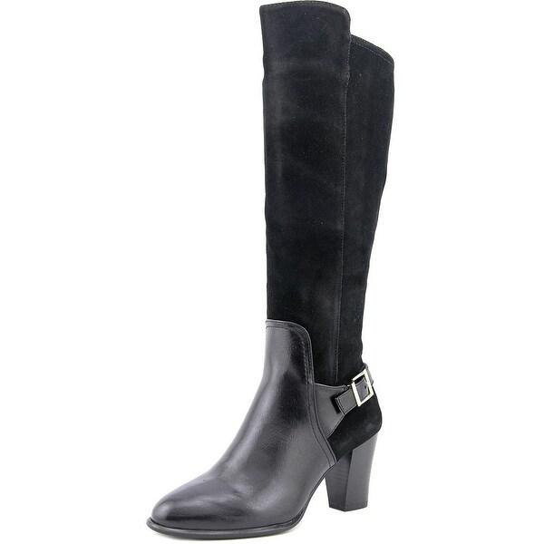 Alfani Careeni Wide Calf Women Black Boots