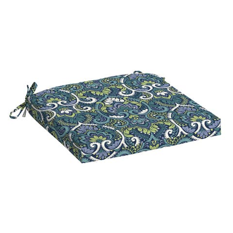 Arden Selections Aurora Damask Outdoor 18 x 19 in. Seat Pad