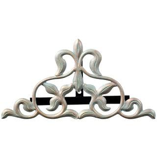 Whitehall Fleur-De-Lis Hose Holder (Oil Rub Bronze) - Bronze