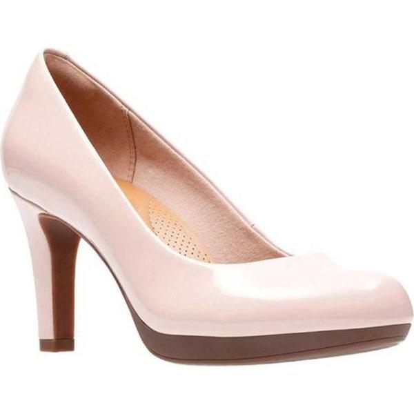 caabbfd44a272 Shop Clarks Women s Adriel Viola Pump Dusty Pink Patent - On Sale ...