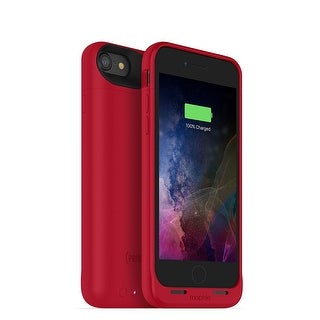 Mophie Juice Pack Air - Wireless Charging Protective Battery Pack Case for iPhone 7 - Red