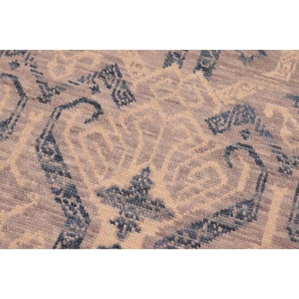 Fine Oushak Modern Jerlene Gray Blue Wool Rug 7 9 X 10 4 7 Ft 9 In X 10 Ft 4 In On Sale Overstock 27031506