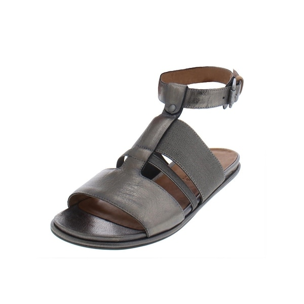 12dfc92fc0f3 Gentle Souls by Kenneth Cole Womens Ophelia Evening Sandals Metallic Ankle  - 7 Medium (B