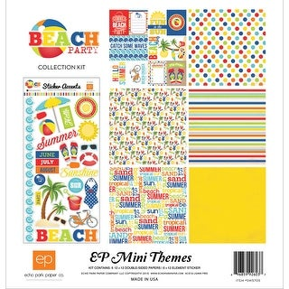 "Echo Park Collection Kit 12""X12""-Beach Party"