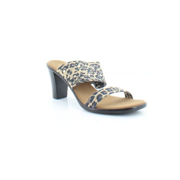 Onex Meri Women's Sandals & Flip Flops Brown Leopard - 6
