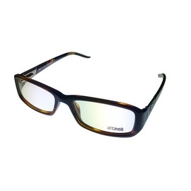 Just Cavalli Womens Opthalmic Frame Modified Brown Rectangle Plastic JC242 52