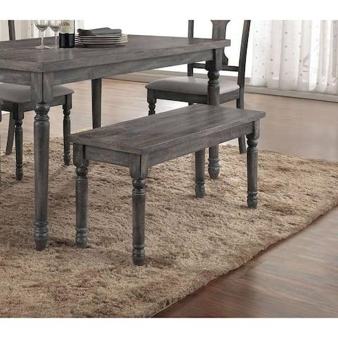 TiramisuBest Furniture Weathered Gray Bench