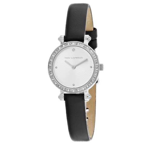 Ted Lapidus Women's Classic A0680ABPB Silver Dial watch