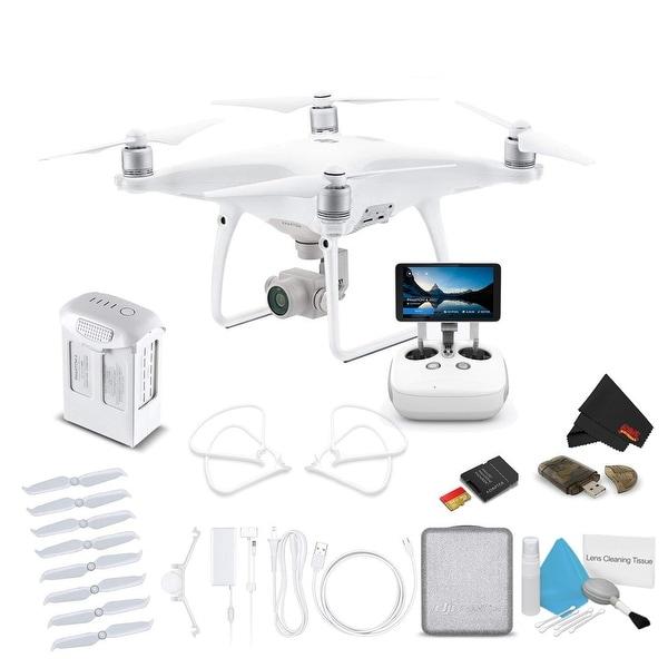 DJI Phantom 4 Pro+ V2 0 / Pro+ V2 Drone Quadcopter Bundle Kit with 4K  Professional Camera Gimbal and Starter Accessories
