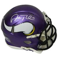 Adam Thielen Minnesota Vikings Riddell Speed Mini Helmet