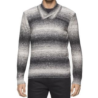 Calvin Klein NEW Black Mens Size XL Pullover Shawl V-Neck Sweater