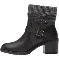 Bare Traps Womens Dover Closed Toe Ankle Fashion Boots