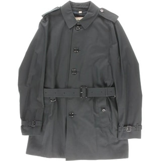 Burberry London Mens Cotton Long Sleeves Trench Coat - L