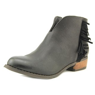 Dirty Laundry Chit Chat Women Round Toe Synthetic Black Ankle Boot