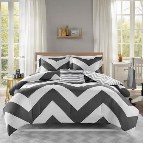 Mi Zone Aries Black Comforter Set