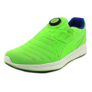Puma Ignite Disc Round Toe Synthetic Running Shoe