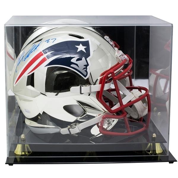6ac51fb6890 Shop Rob Gronkowski Signed Patriots FS Chrome Replica Speed Helmet JSA  w/Acrylic Case - Free Shipping Today - Overstock - 25755040