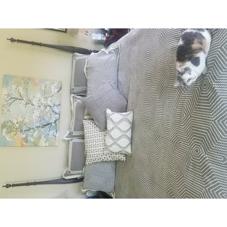 Madison Park Signature Shades of Grey Jaquard Comforter Set With A Removable Insert