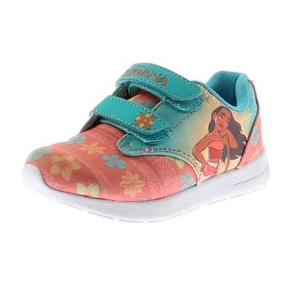 Disney Girls Moana Athletic Shoes Colorblock Casual - 10 medium (b,m) toddler