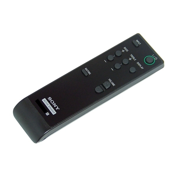 OEM Sony Remote Control Originally Shipped With: SRS-DB500, SRSDB500