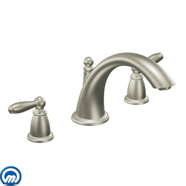 Moen T933 Deck Mounted Roman Tub Faucet Trim from the Brantford ...