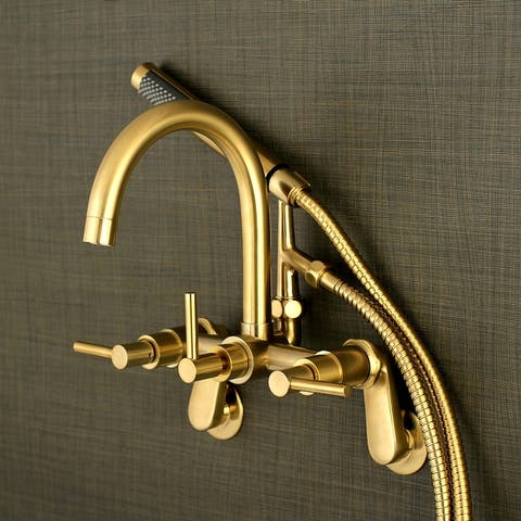Concord 7-Inch Adjustable Wall Mount Tub Faucet