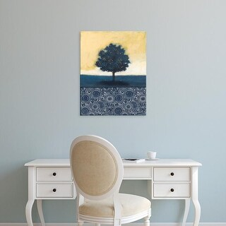Easy Art Prints Norman Wyatt's 'Blue Lemon Tree I' Premium Canvas Art