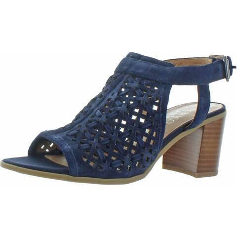 Franco Sarto Womens Harlet 3 Dress Sandals Perforated