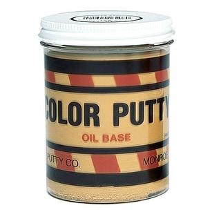 Color Putty 16130 Oil Based Wood Filler, 1 Lb Jar, Dark Walnut