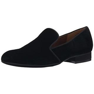 Nine West Womens Clowd Velvet Slip On Loafers - 6.5 medium (b,m)