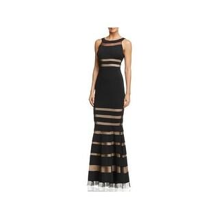 JS Collections Womens Evening Dress Halter Full-Length - 0