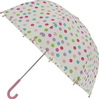 Pluie Pluie Raingear White Polka Dot Kids Umbrella