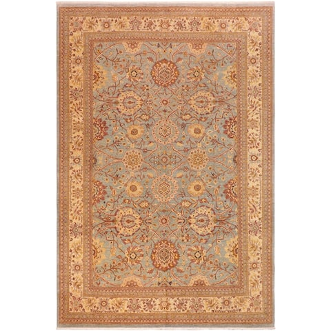 """Boho Chic Ziegler Carlee Hand Knotted Area Rug -9'7"""" x 13'8"""" - 9 ft. 7 in. X 13 ft. 8 in."""