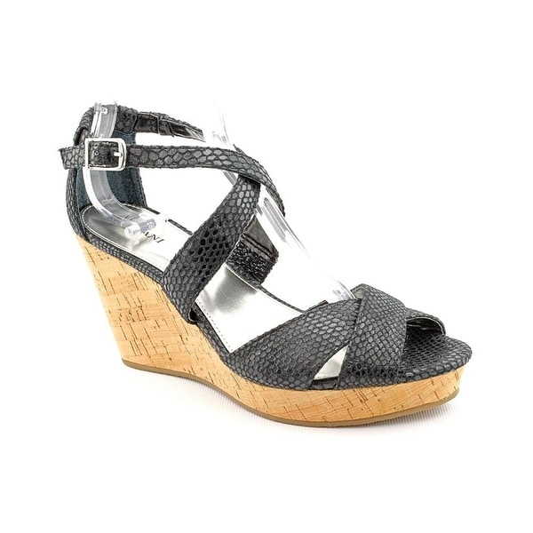 Alfani Womens Jersey Open Toe Casual Platform Sandals
