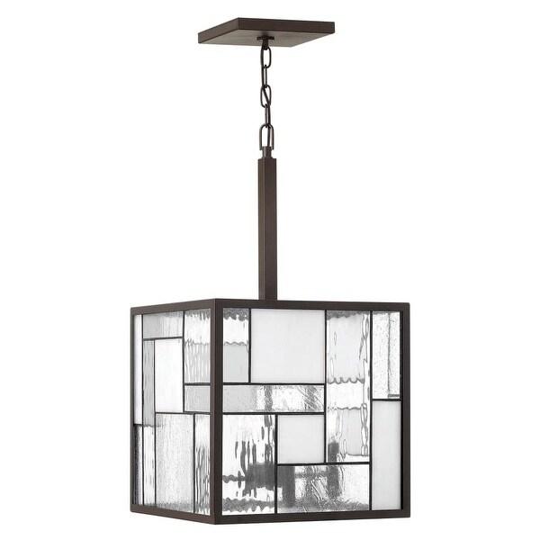 Hinkley Lighting 4574 Mondrian 4 Light 1 Tier Mini Chandelier - buckeye bronze