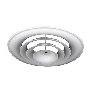 """Greystone Home Products 6""""Rnd Wh Ceilng Diffuser ABCDWHO6 Unit: EACH"""