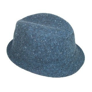 Levis Men's Wool Heathered Upturn Fedora Hat